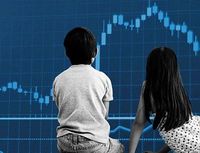 سرمایه گذاری در بورس برای کودکان